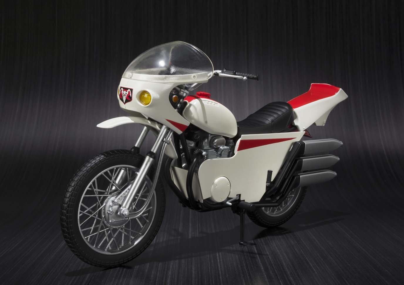 S.H.Figuartsのバイク高スギィ!→1/12スケールモデルで代用すべし!