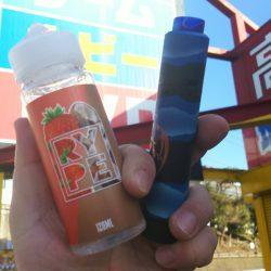 甘酸っぱいイチゴに爽やかココナッツの風味【RYPE VAPOR TROPICAL STRAWBERRY】|電子タバコ・VAPEリキッドレビュー