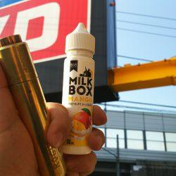 BLVK UNICORN新作リキッド「MILKBOX マンゴー」レビュー|電子タバコ・VAPEリキッドレビュー