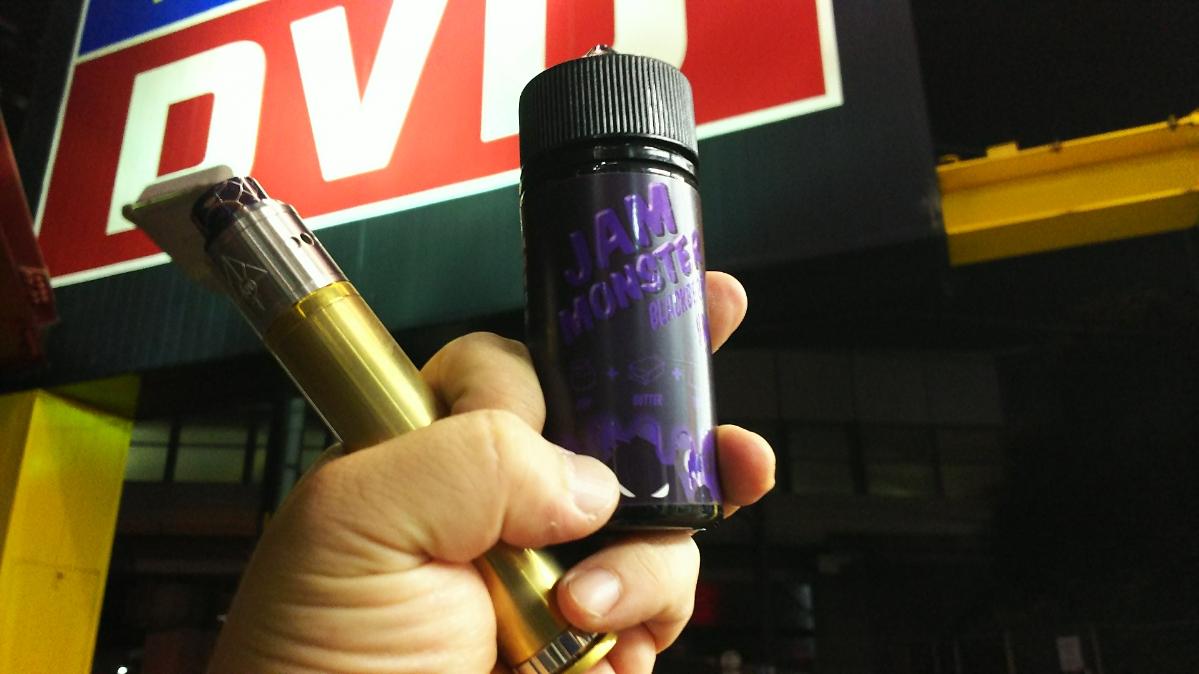 まさにハイチュウのグレープ!期間限定生産「JAM MONSTER BLACKBERRY」|電子タバコ・VAPEリキッドレビュー