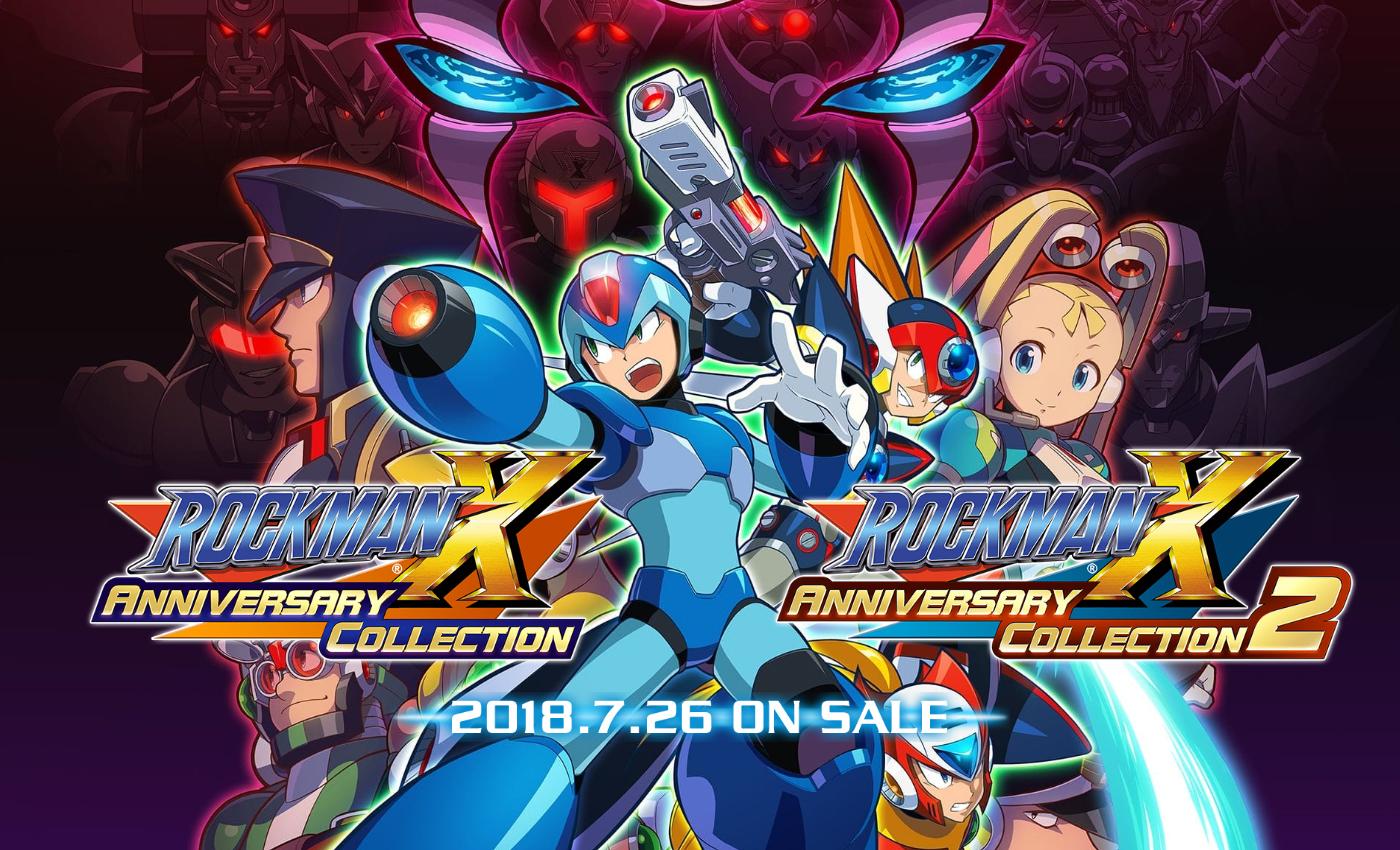 名作が最新ハードで蘇る!7月26日発売「ロックマンX アニバーサリーコレクション1+2」をご紹介!