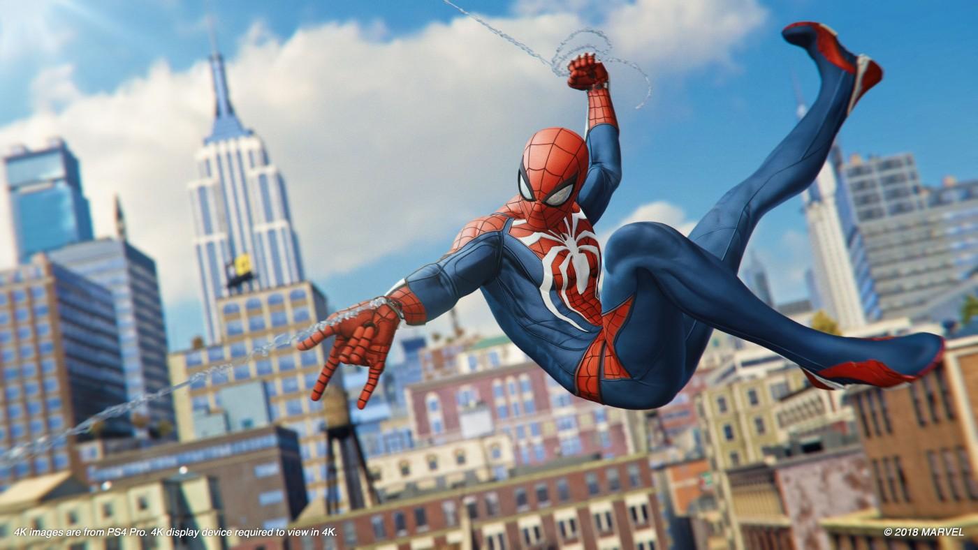 縦横無尽に駆け巡れ!9月7日発売「Marvel's SPIDER-MAN(スパイダーマン)」をご紹介!