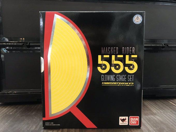 買取情報『BANDAI(バンダイ)のS.H.Figuarts 仮面ライダー555 GLOWING STAGE SET』