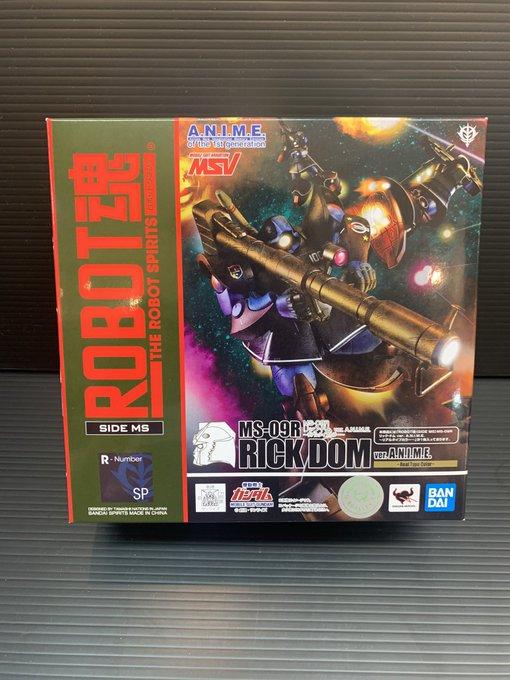 買取情報『BANDAI(バンダイ)のROBOT魂 MS-09R リック・ドム ver. A.N.I.M.E. ~リアルタイプカラー~』