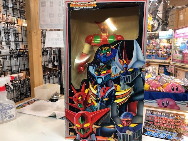 買取情報『マーミットのスーパーロボット烈伝 ゲッター1』