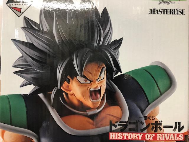 買取情報『バンプレストの一番くじ ドラゴンボール HISTORY OF RIVALS B賞 ブロリーフィギュア』