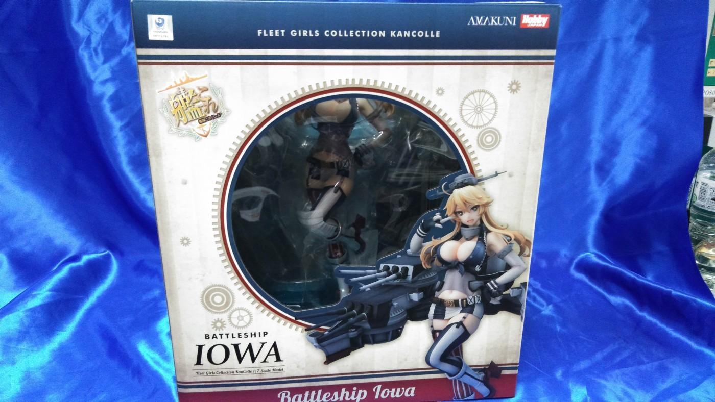 買取情報『ホビージャパン/AMAKUNIの艦隊これくしょん -艦これ-「Iowa(アイオワ)」』