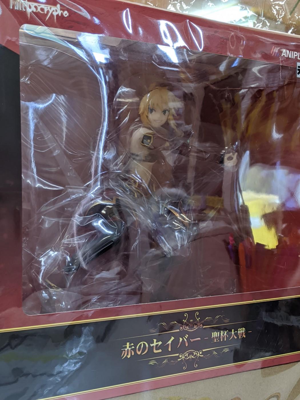 買取情報『フリーイング:Fate/Grand Order スカサハ 刺し穿つバニーVer. 1/7 完成品フィギュア/アニプレックス:Fate/Apocrypha 赤のセイバー -聖杯大戦- 1/7スケールフィギュア』