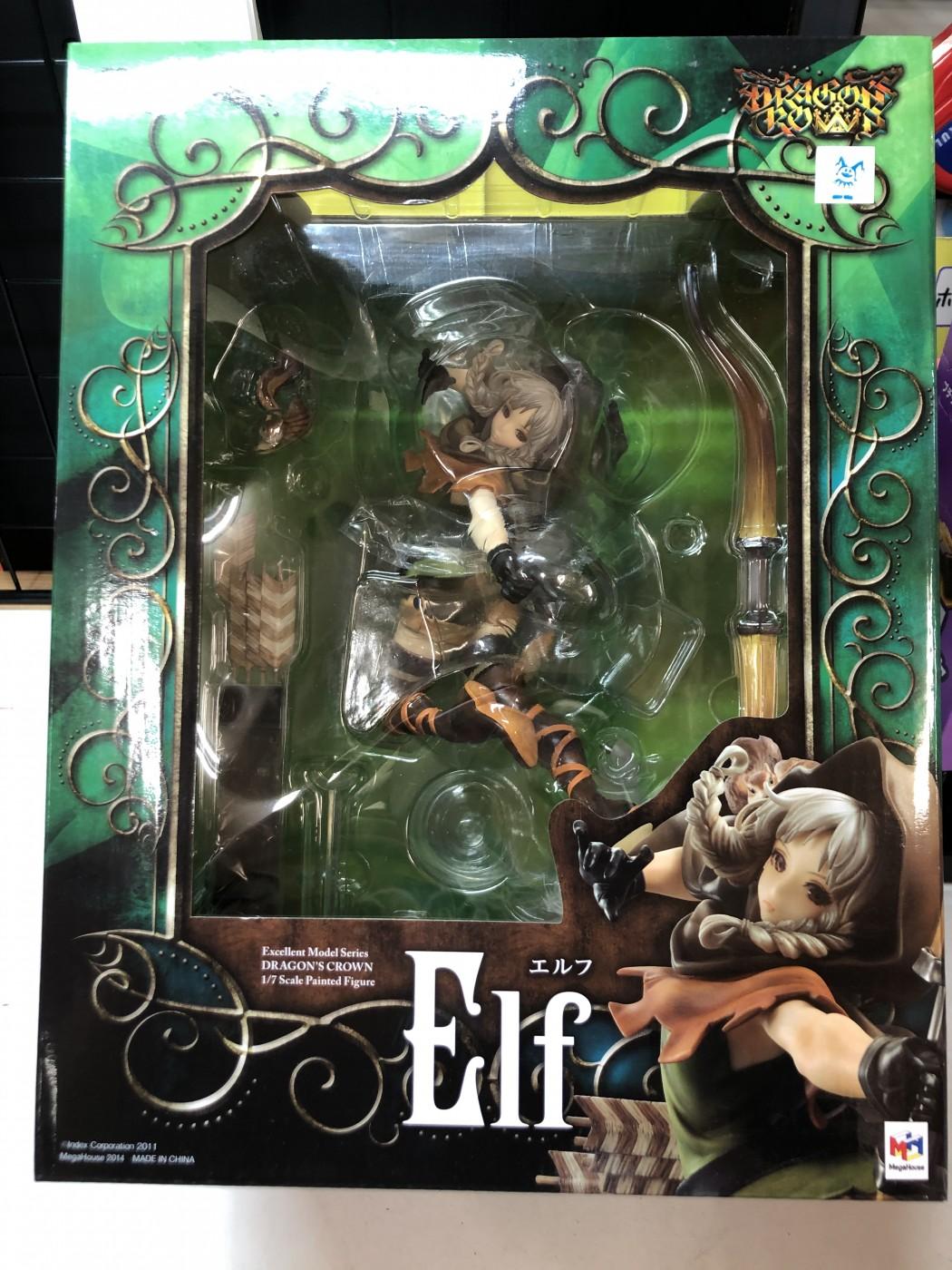 買取情報『メガハウスのドラゴンズクラウン エクセレントモデル 1/7 エルフ』