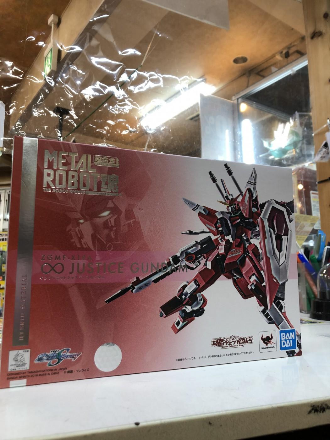 買取情報『バンダイのMETAL ROBOT魂 機動戦士ガンダムSEED DESTINY インフィニットジャスティスガンダム』