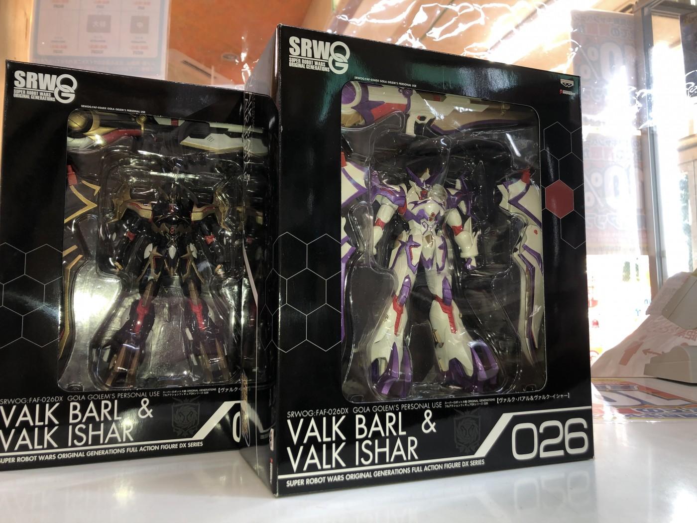 買取情報『電撃ホビーの スーパーロボット大戦OG フルアクションフィギュアDXシリーズ ヴァルク・バアル&ヴァルク・イシャー』