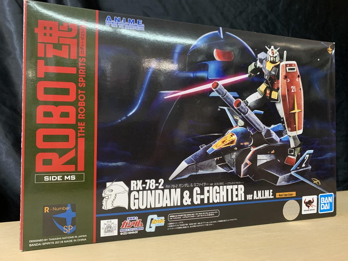 買取情報『バンダイのROBOT魂 〈SIDE MS〉 RX-78-2 ガンダム & Gファイター ver. A.N.I.M.E. リアルタイプカラー』