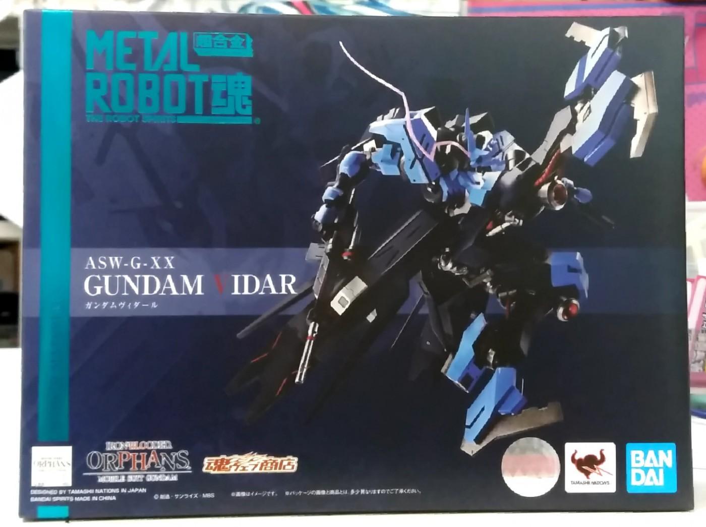 買取情報『バンダイの「機動戦士ガンダム鉄血のオルフェンズ」メタルロボット魂 ガンダムヴィダール』