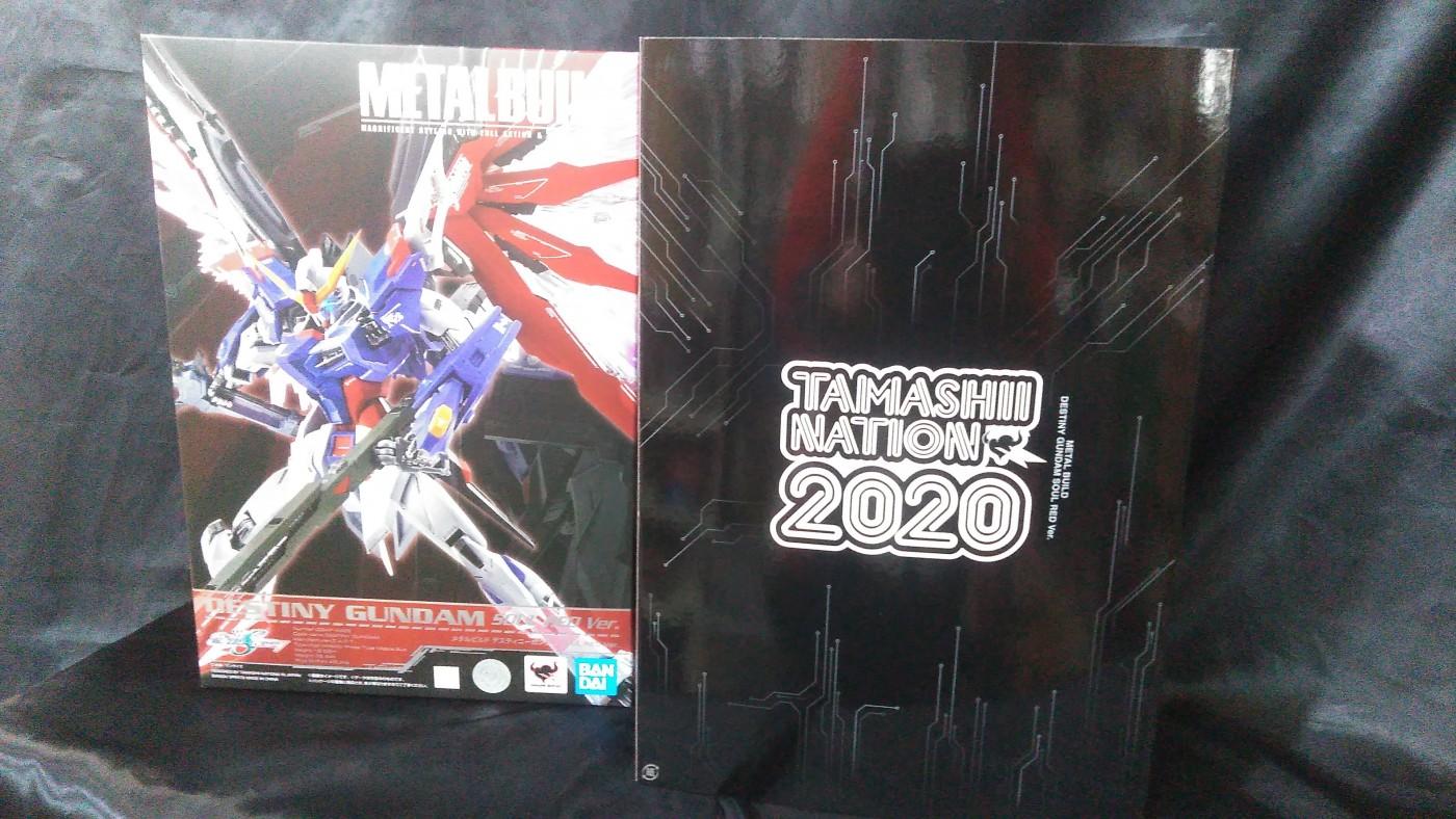 買取情報『TAMASHII NATION 2020開催記念商品のMETAL BUILD デスティニーガンダム SOUL RED Ver. 「機動戦士ガンダムSEED DESTINY」』