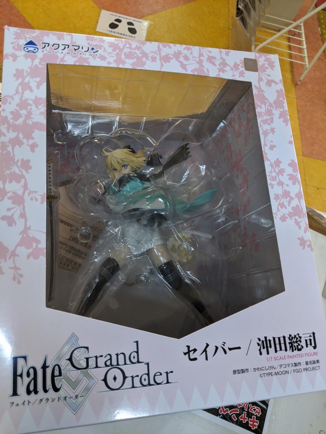 買取情報『アクアマリンのFate/Grand Order セイバー沖田総司』