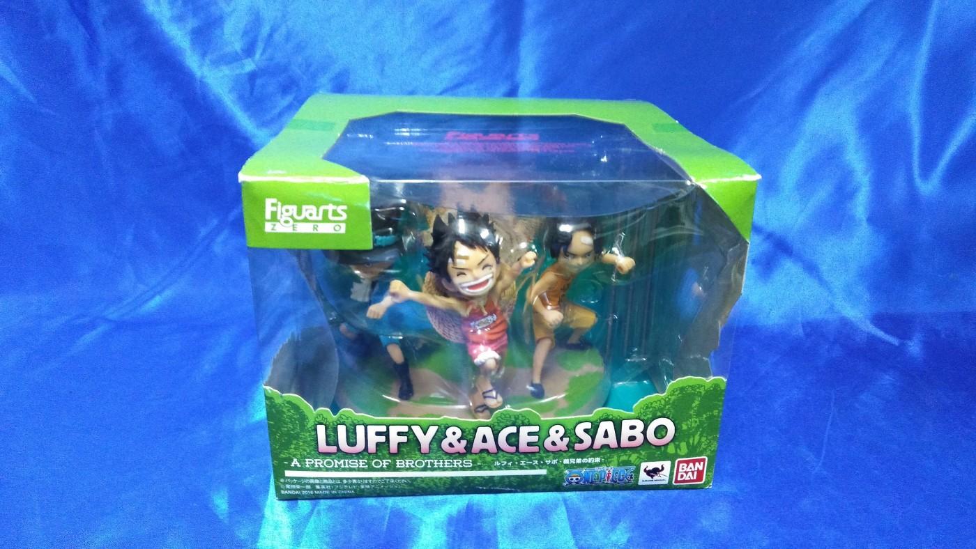 買取情報『バンダイ/フィギュアーツZEROのワンピース「ルフィ・エース・サボ -義兄弟の約束-」』