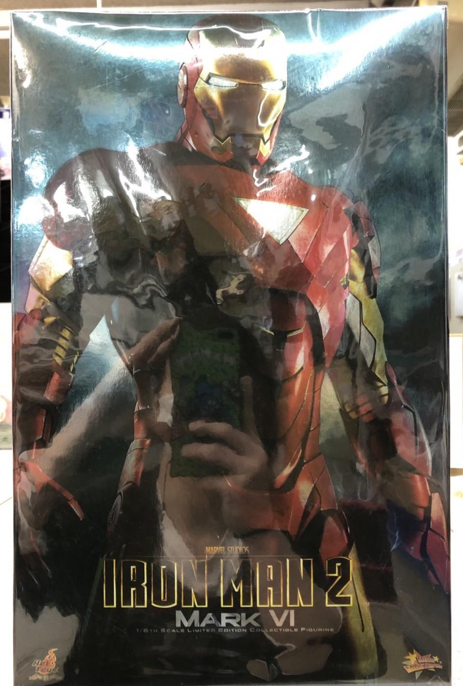 買取情報『ホットトイズのアイアンマン・マーク6「アイアンマン2」ムービー・マスターピース』
