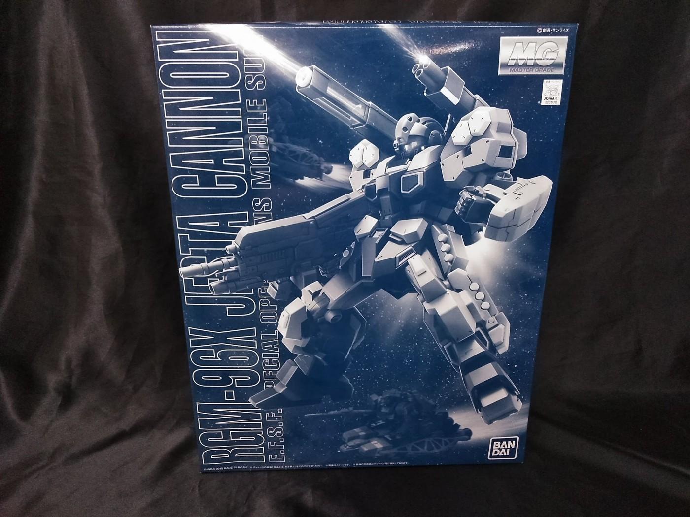 ゼスト所沢店の買取情報!!『バンダイの1/100 MG RGM-96X ジェスタ・キャノン 「機動戦士ガンダムUC」』