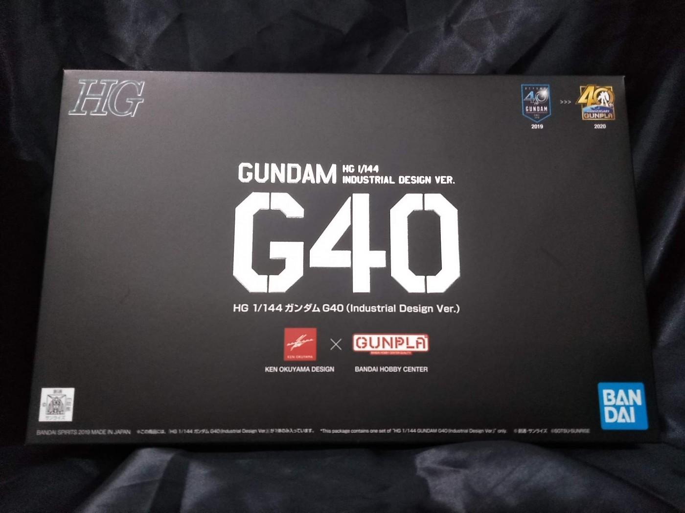 ゼスト所沢店の買取情報!!『バンダイの1/144 HG ガンダムG40 Industrial Design Ver. 「機動戦士ガンダム」』