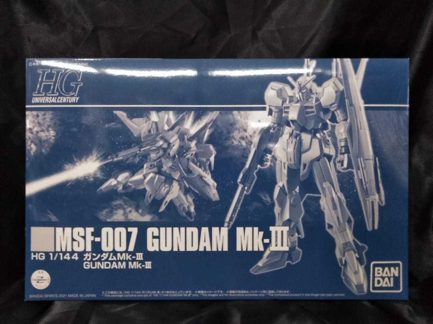 ゼスト所沢店の買取情報!!『バンダイの1/144 HGUC MSF-007 ガンダムMk-III 「機動戦士Zガンダム MSV」』
