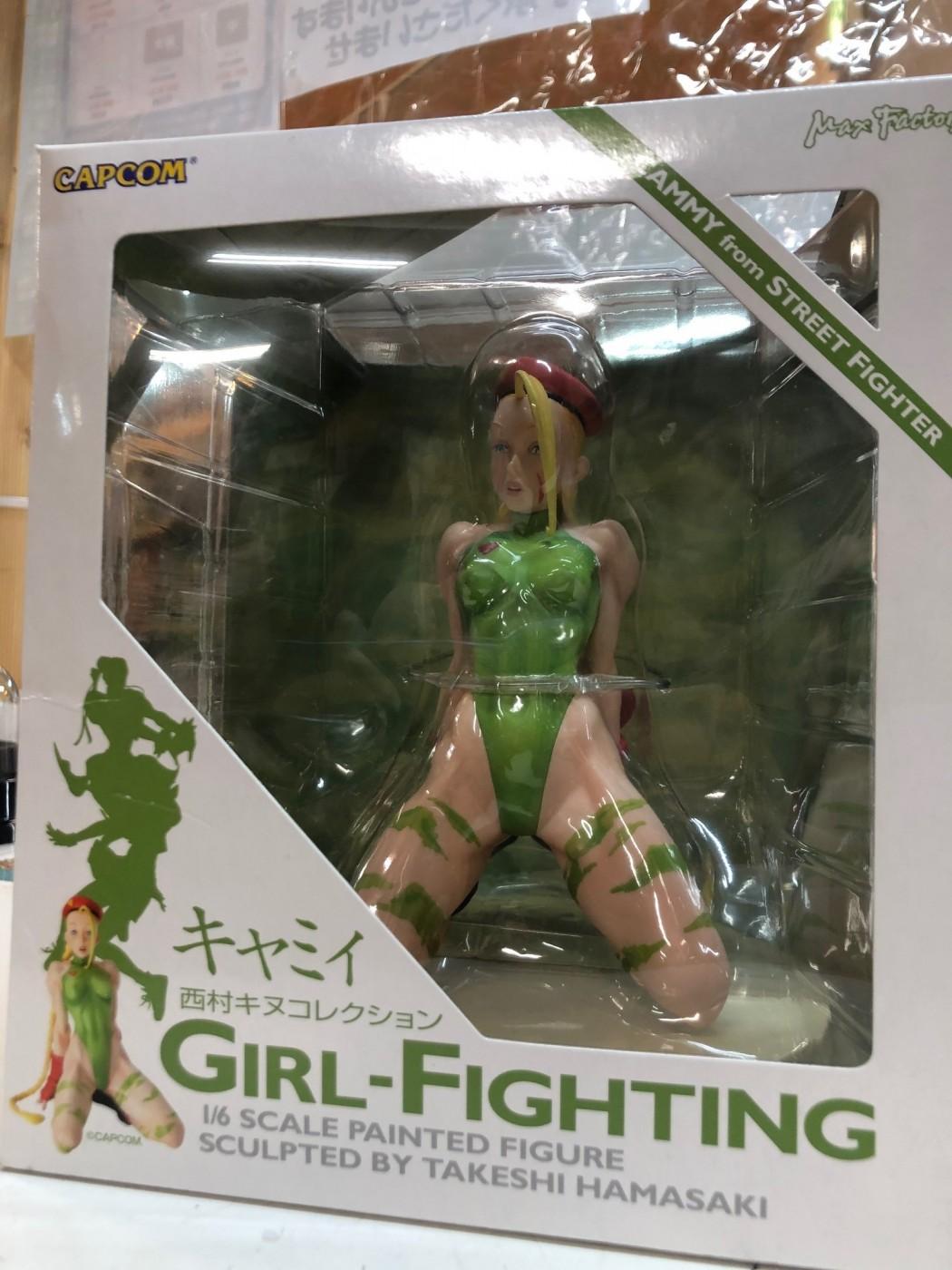 買取情報『マックスファクトリーの西村キヌコレクション GIRL-FIGHTING スーパーストリートファイターⅡ キャミィ』