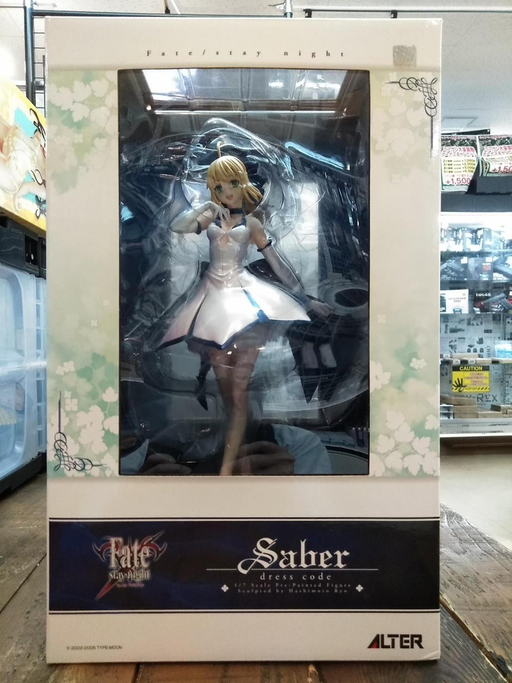 買取情報『ALTER(アルター)のセイバー ドレスコード 「Fate/stay night」 1/7 塗装済み完成品』