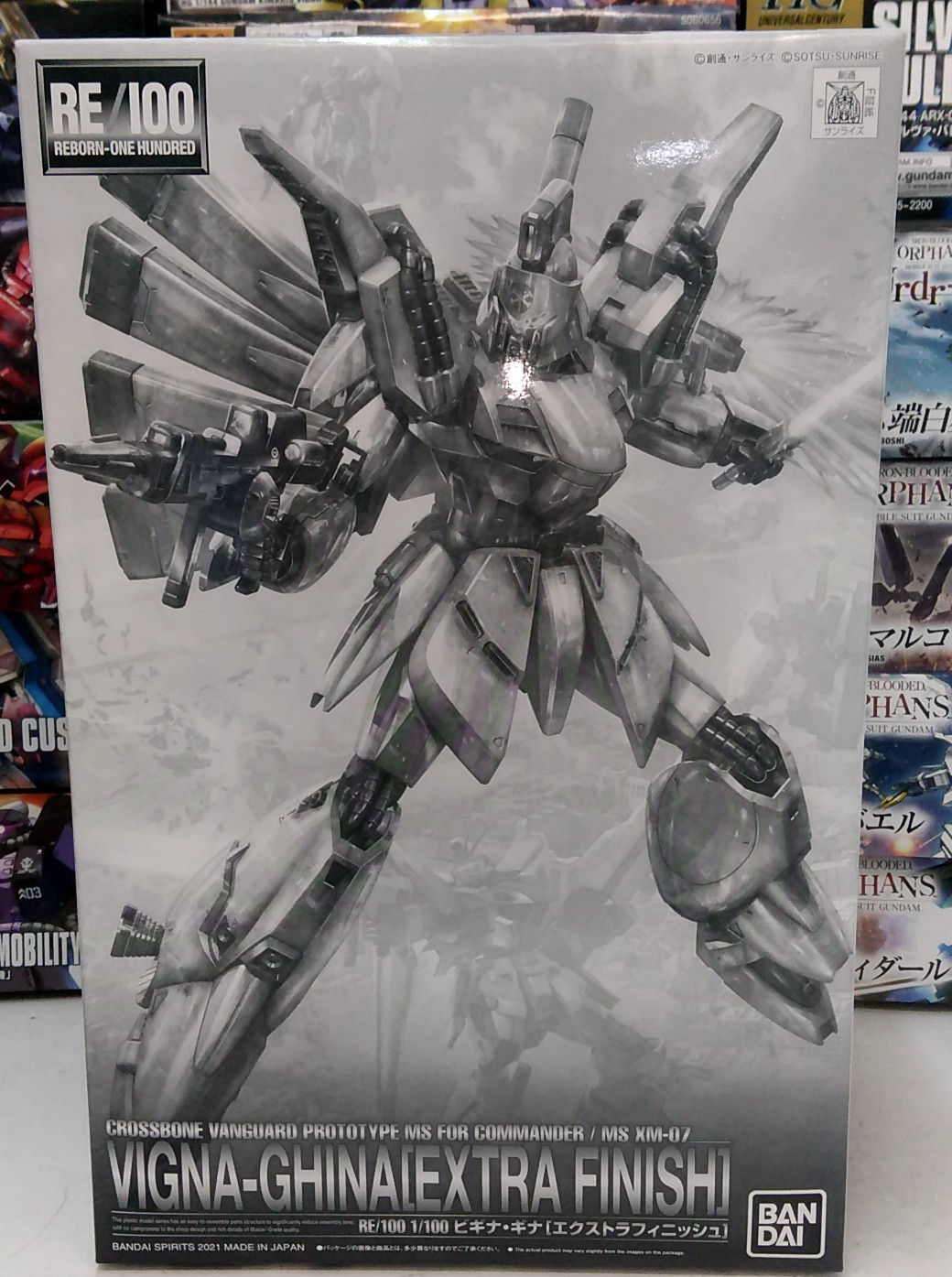 買取情報『機動戦士ガンダムF91 RE/100 1/100 ビギナ・ギナ(エクストラフィニィッシュ)』