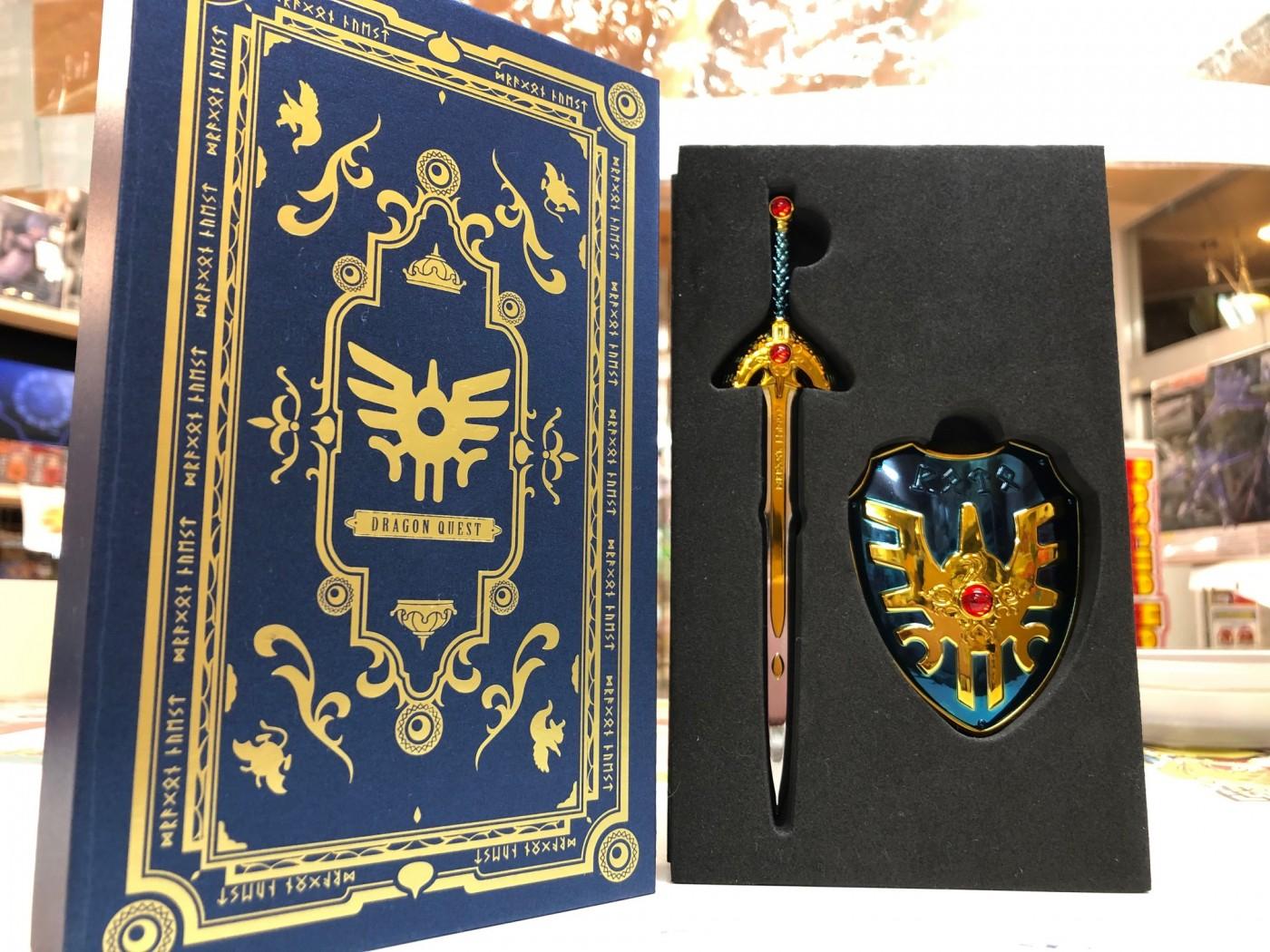 買取情報『ドラゴンクエスト メタリックアイテムズギャラリースペシャル のロトの剣&ロトの盾・天空の剣&天空の盾』