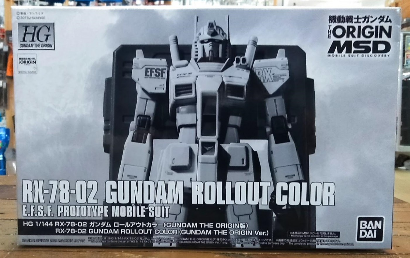 ゼスト所沢店の買取情報!!『バンダイの1/144 HG RX-78-02 ガンダム ロールアウトカラー(GUNDAM THE ORIGIN版)』