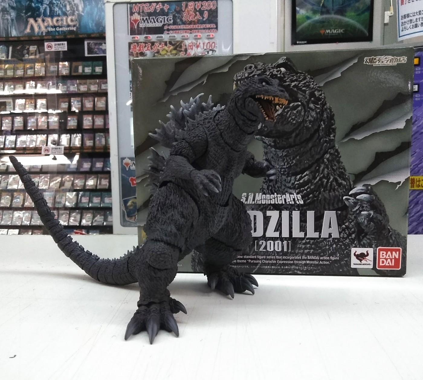 買取情報『S.H.MonsterArts  ゴジラ(2001) 「ゴジラ・モスラ・キングギドラ 大怪獣総攻撃」 魂ウェブ商店限定フィギュア』