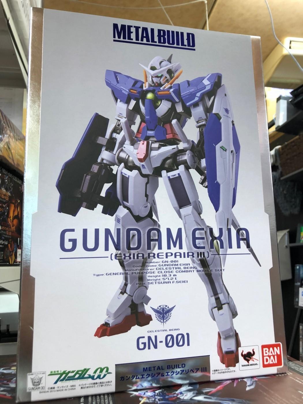 買取情報『METAL BUILDの機動戦士ガンダムOO ガンダムエクシア&エクシアリペアⅢ』